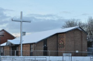 Church snow